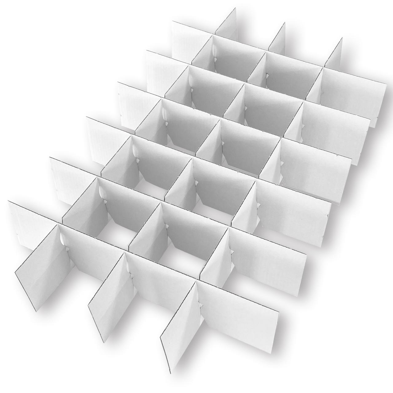 3er - Satz Gefache/Stege für Christbaumkugeln 6 cm