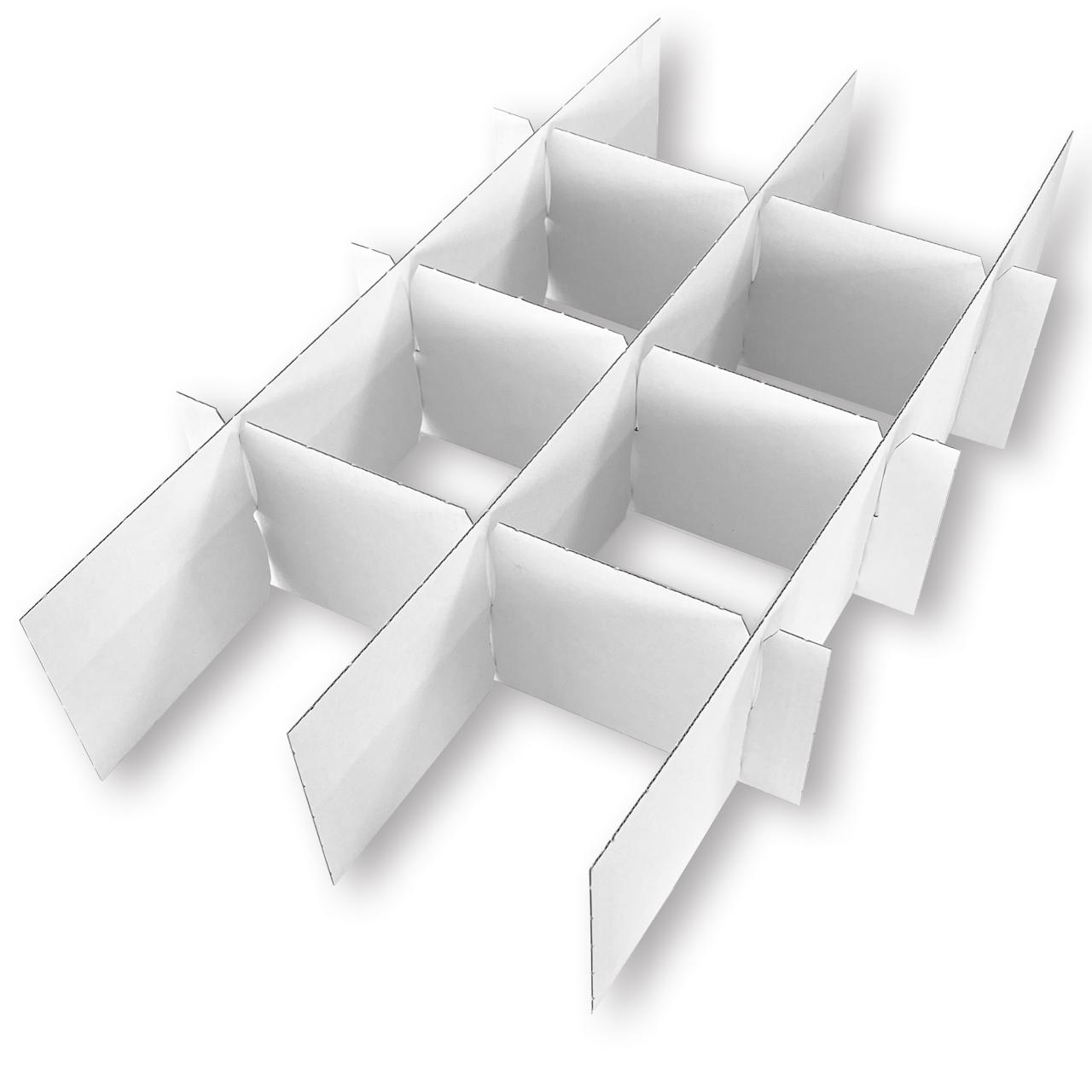 3er - Satz Gefache/Stege für Christbaumkugeln 10 cm