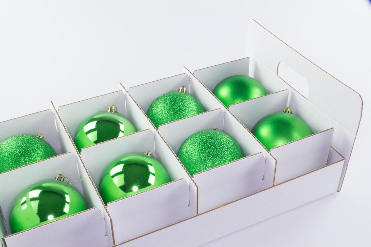 TOP-BOX Weihnachtskugel Box, Christbaumkugel Box, Christbaumschmuck und Deko